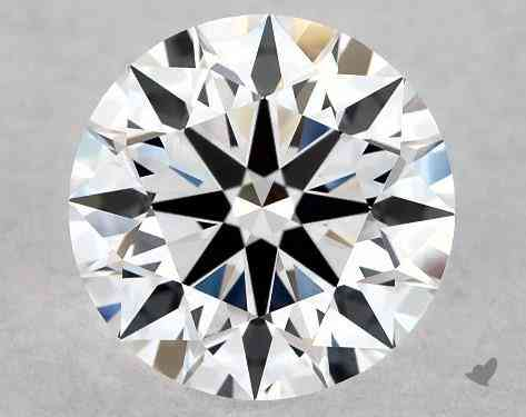 ideal cut round diamond