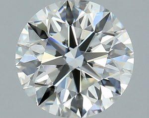 ideal cut round diamond