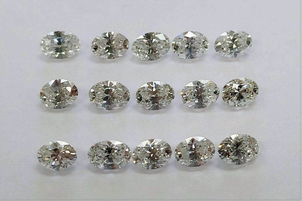 Oval Diamonds